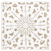 керамическая плитка DEC BIZZARE TABACO 2 13×13