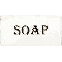 DEC SOAP ANTIC BLANCO 7,5×15