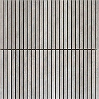 ICON DOVE GREY STRIPES 30x30